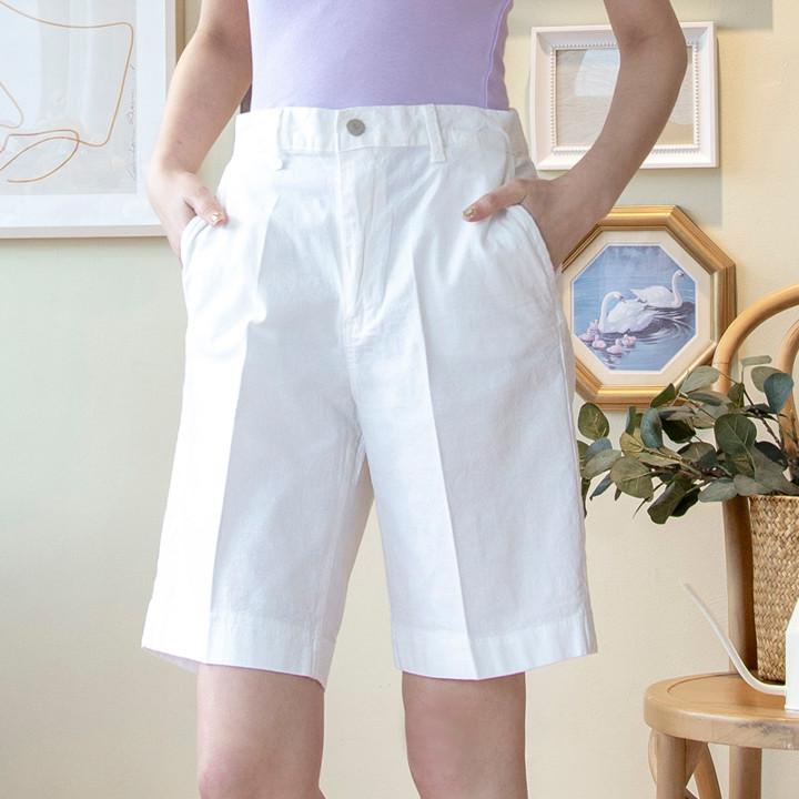 P9809 轻质修身棉质短裤 (SML)